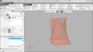 КОМПАС-3D: Элемент по сечениям