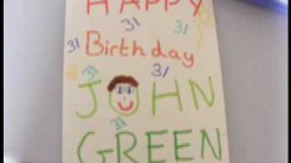 Oh John Green, You're 31