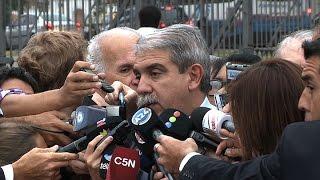 Para Aníbal Fernández, la marcha del silencio de ayer fue
