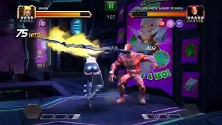 Marvel contest of champions SA rank rewards   current mastery setup   aq mini boss   crystal opening