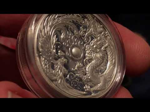 2017 Dragon & Phoenix HIgh Relief Silver Coin Unboxing Part 2