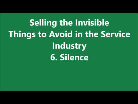 selling the invisible a field guide to modern marketing pdf