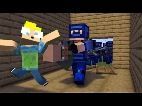 FBI open up!! - Minecraft compilation
