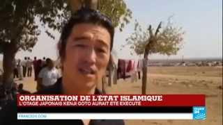 L'EI revendique dans une vidéo la décapitation de l'otage japonais Kenji Goto