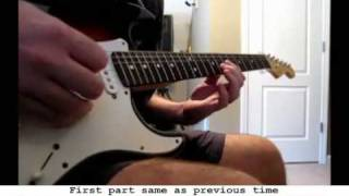 Seether - Breakdown guitar cover WITH TABS