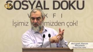 211) Avrupalı Hanım Hocalara - Sosyal Doku Vakfı - Nureddin YILDIZ