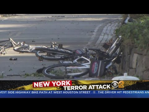 Innocent Cyclists Mowed Down In Lower Manhattan Terror Attack