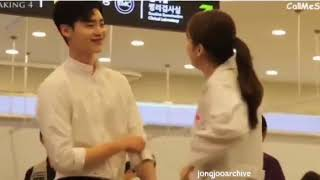 Video W TWO WORLDS BTS | Behind the scene | Lee Jong Suk 1 | cute scene download MP3, 3GP, MP4, WEBM, AVI, FLV April 2018
