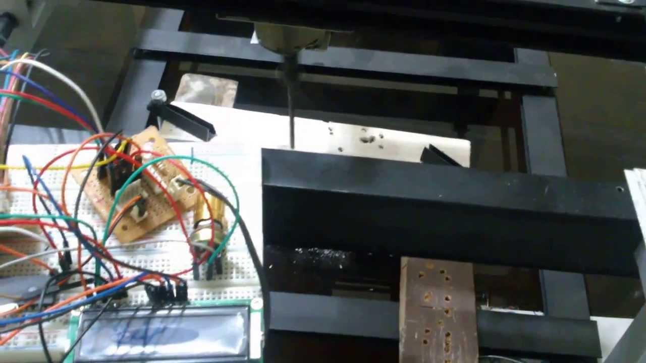 Cnc Para Madera Con Pic 16f877a Usb Campod Breakout Board For Machine Control