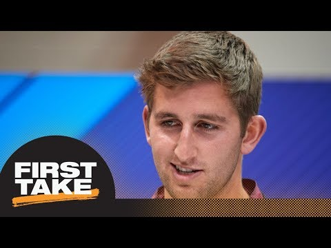 Todd McShay: Josh Rosen's off-the-field 'red flags' could damage NFL draft stock   First Take   ESPN