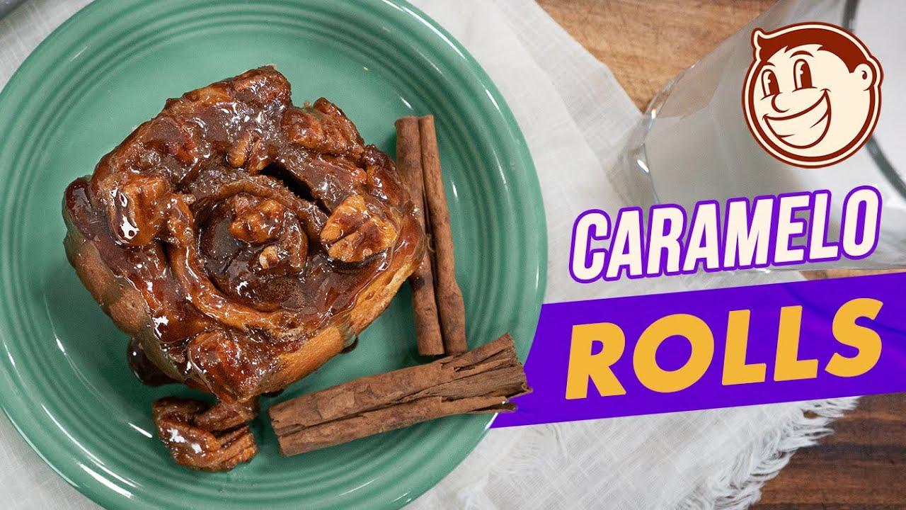 Roles de Canela con Caramelo y Nuez | El Guzii