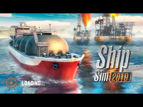Saiu  Ship sim 2019 Novo jogo simulador de navio para Android!