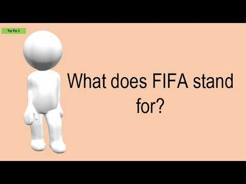 What Does FIFA Stand For?