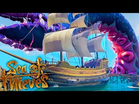 THE KRAKEN ATE ME?! INFINITE TREASURE CHEST EVENT! - Sea of Thieves Gameplay