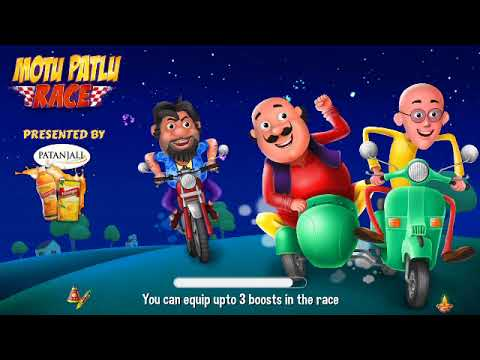 Motu Patlu Race Game