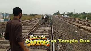Temple Run 2 VS Subway Surfers IN REAL LIFE screenshot 3