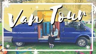 VAN TOUR: Les enseño la camper en la que viajamos  - Ford Transit