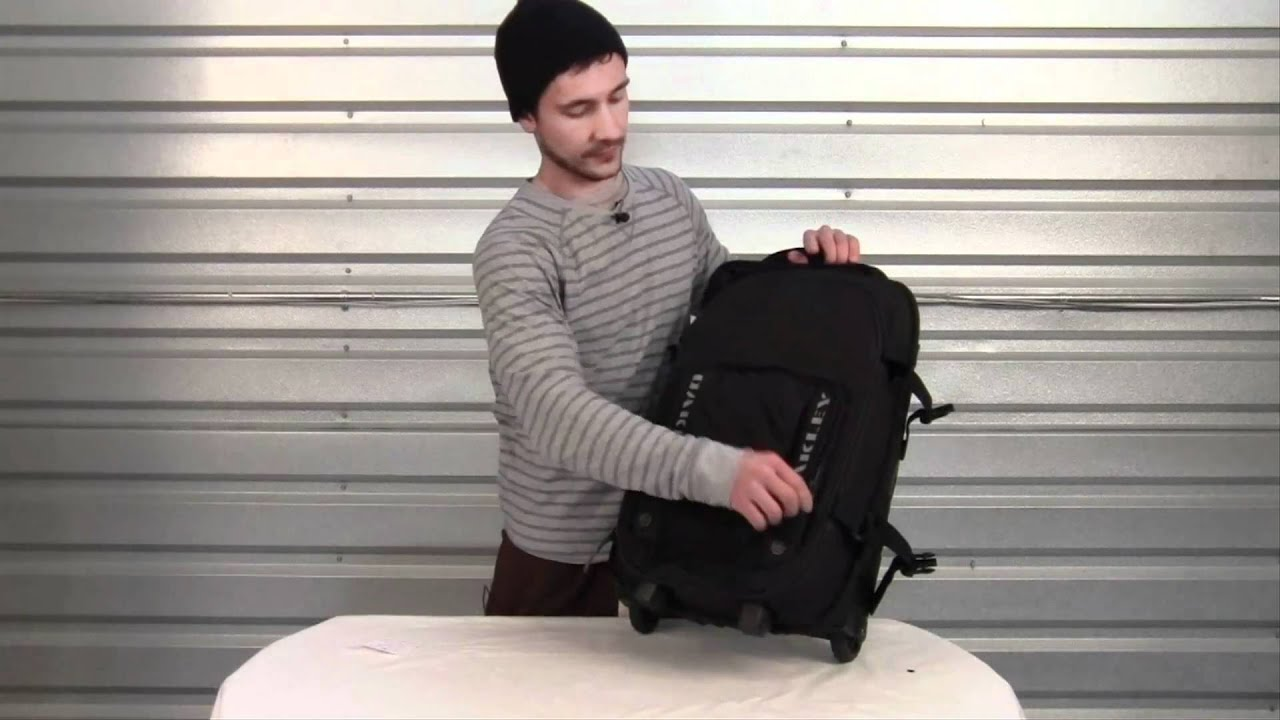 f2ab37db0b04a Oakley Carry-On Roller Luggage Review at Surfboards.com - YouTube