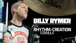 Billy Rymer (The Dillinger Escape Plan) - The Rhythm Creation Formula - Drum Lesson (Drumeo)