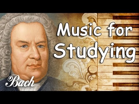 Bach Classical Music for Studying and Concentration, Relaxation | Study Music Piano Instrumental