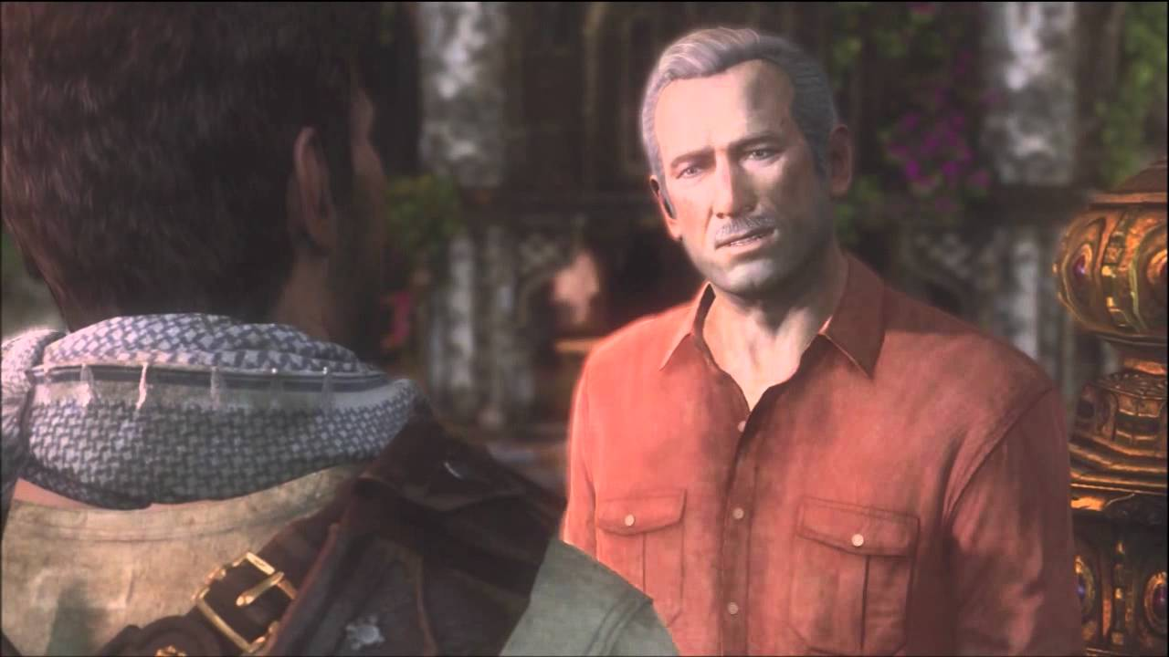 Uncharted 3 Sully Death Scene Youtube