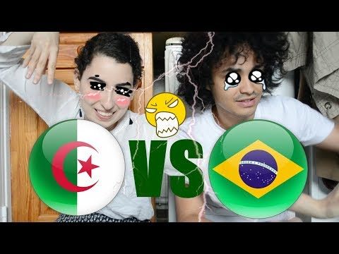 ALGERIA VS BRAZIL ☮ Language Challenge | Mary Goround & Yoan