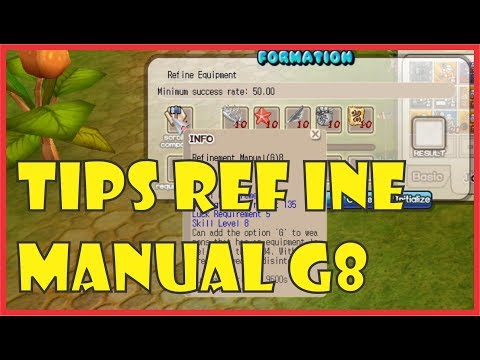 Tips Refine Manual G8 Seal Online