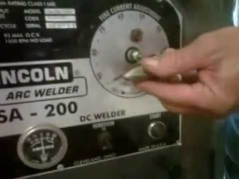 Wireless welder control for Lincoln SA type machines--Install video