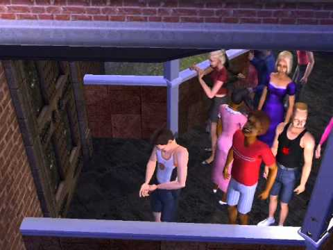 Subscriber-only Sims 2 Downloads - 'haunted house'