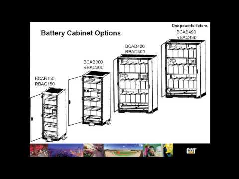 Cat® UPS B125 Overview  YouTube