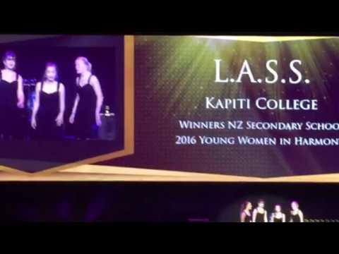 LASS at Wellington Region College Sports Awards