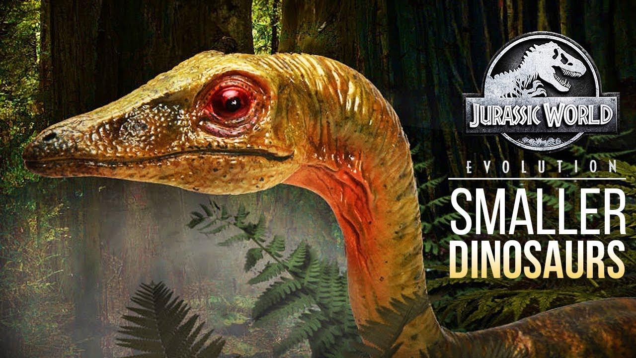 SMALL DINOS IN EVOLUTION