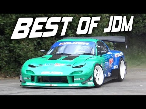 BEST of JDM Tuner Car Sounds in The World! - 2JZ GT86, RX7, Skyline, Subaru & More!