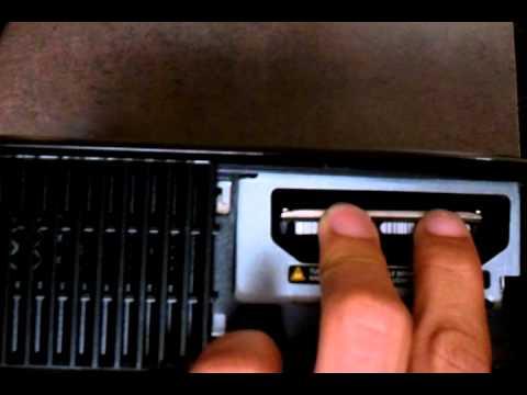 Xbox 360 original harddrive install to 4GB slim - YouTube