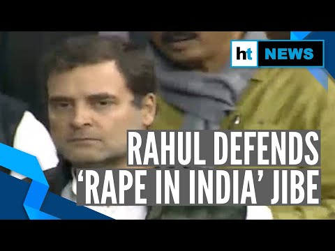 'Modi called Delhi rape capital': Rahul Gandhi defends 'Rape in India' remark