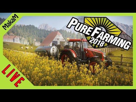 Pure Farming 2018 LIVE [HUN] #2 - Folytatjuk az örökséget!