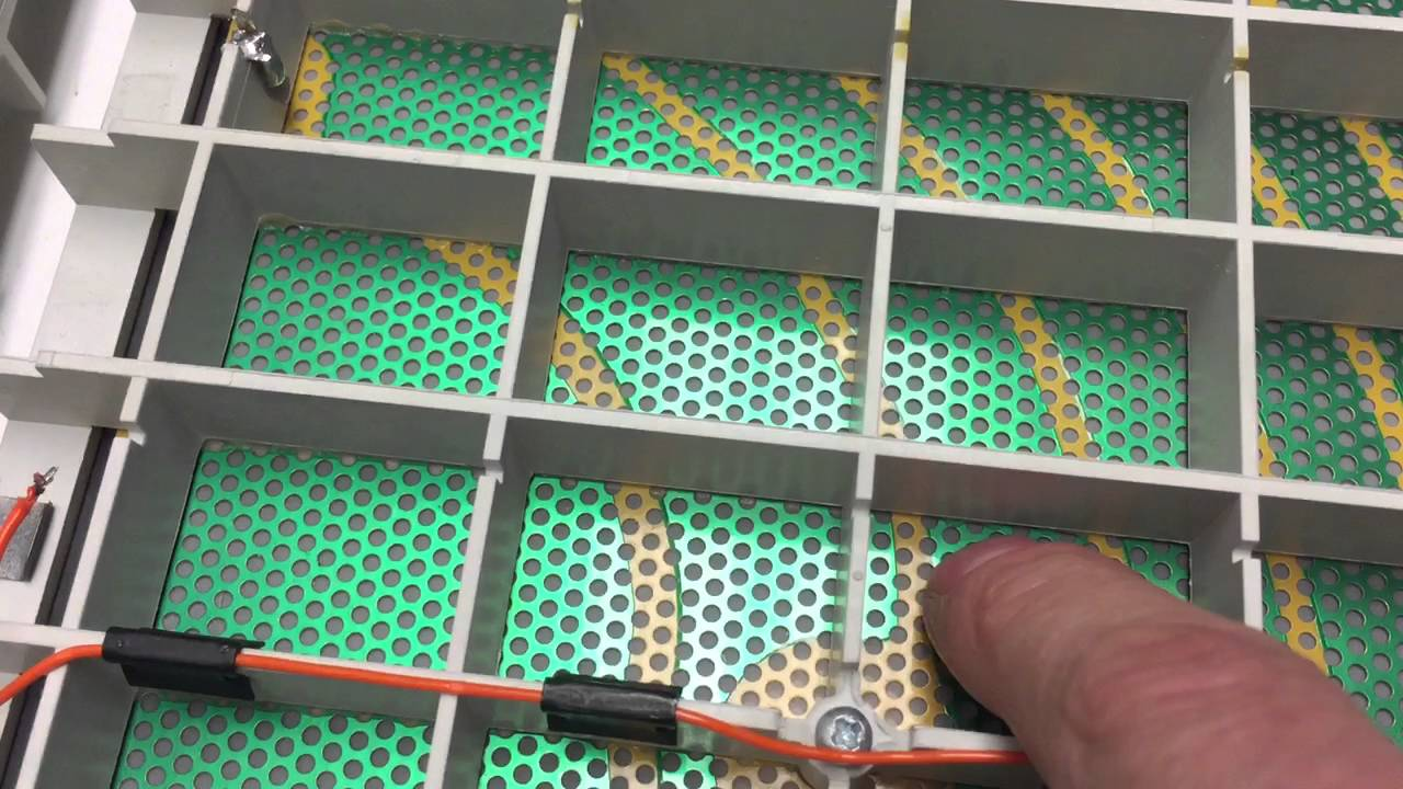 Quad esl-989 bad panel glue