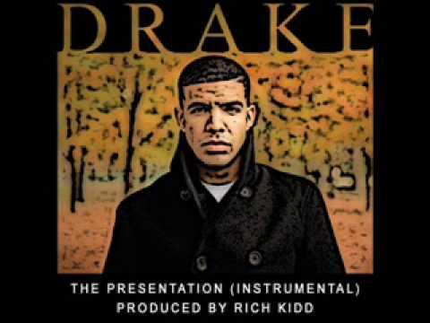 The presentation by drake.