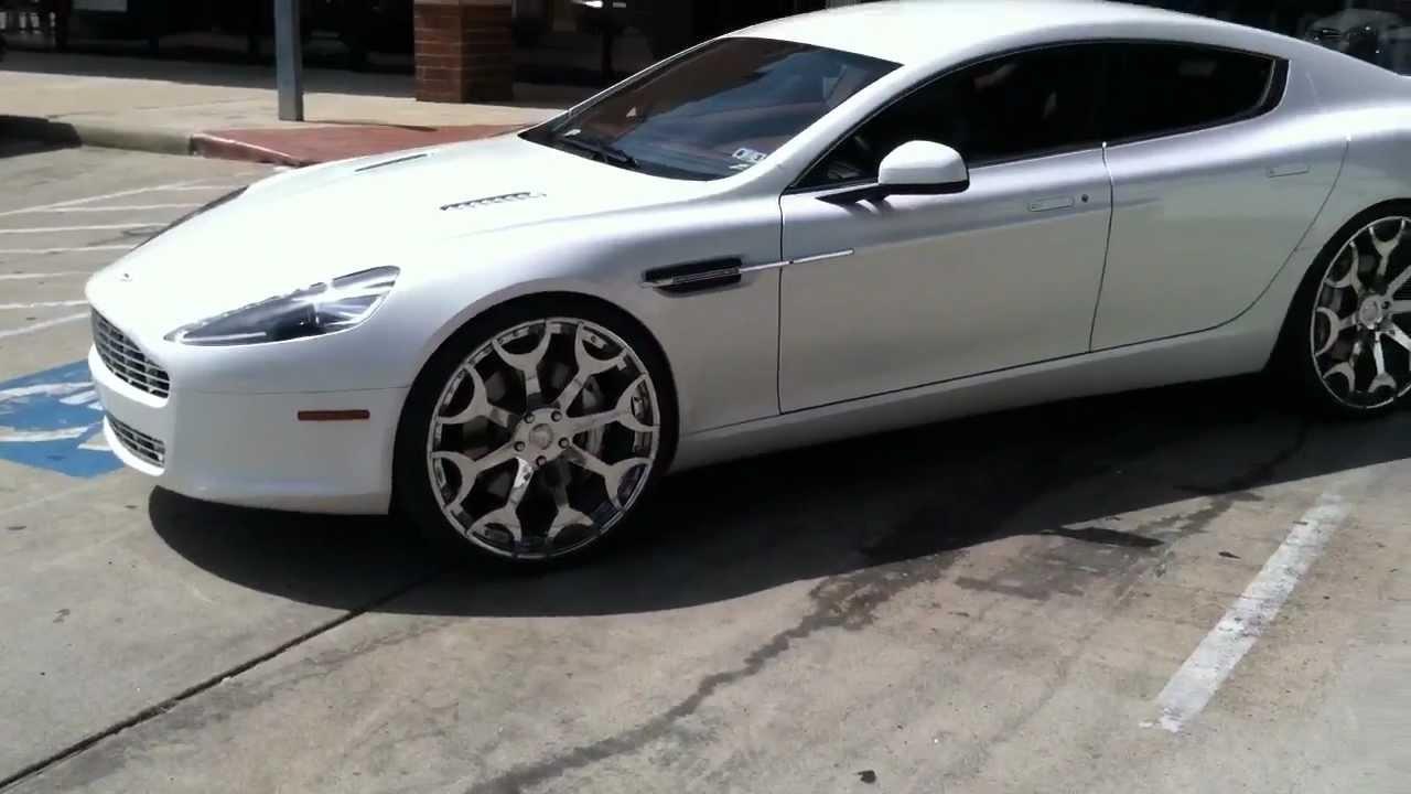 Aston martin rapide wheels car image ideas 713 motoring aston martin rapide on 24 inch forgiato youtube sciox Images