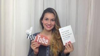 Como ganhar dinheiro com Youtube? + Como fazer parcerias? ♡Laura ...