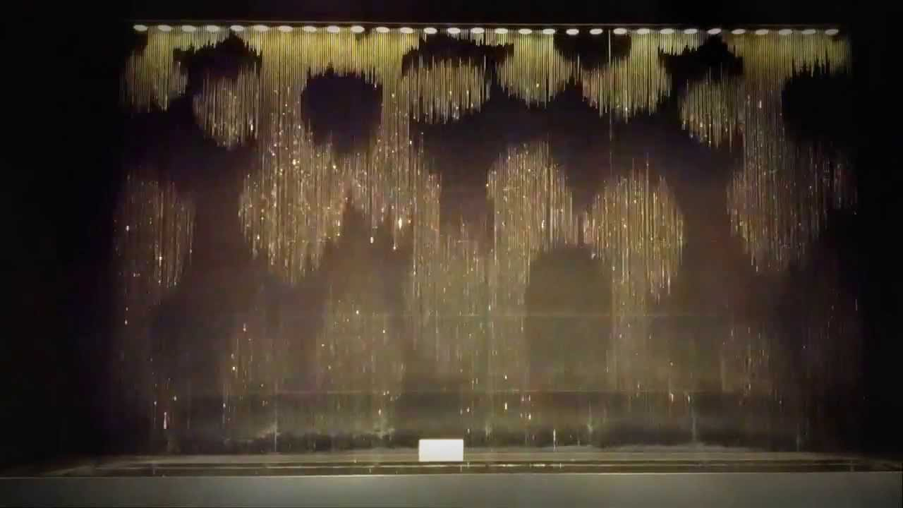 Water Clock Fountain At South Gate Building In Osaka