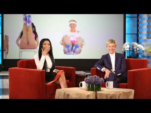 Nicki Minaj Reacts to Ellen's...