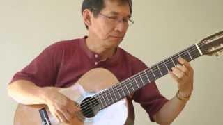 Dang Thao - NATALIA (G. Moustaki) Classical Guitar