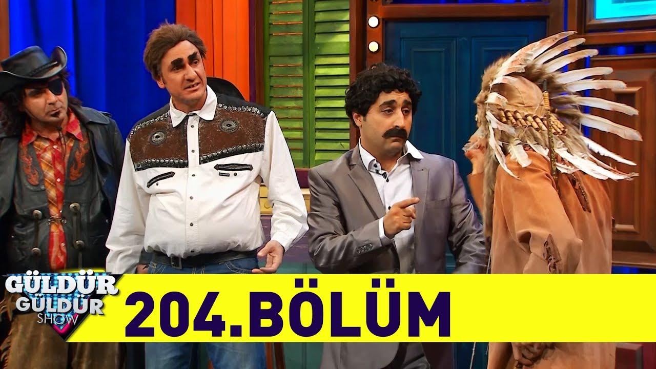 Güldür Güldür Show 204.Bölüm (Tek Parça Full HD)