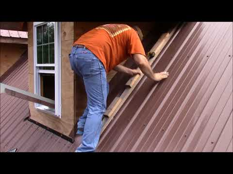 Building My Own Home: Episode 71 - Flashing The Dormers Part 2