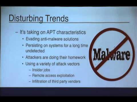 ShmooCon 2015 - Analyzing POS Malware