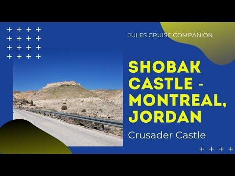 Shobak Montreal Jordan, Crusader Castle