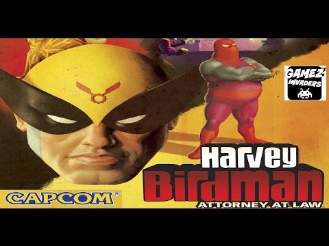Capcoms Harvey Birdman Attorney At Law Adult Swim Cartoon Game