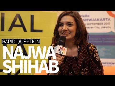 Rapid Question with Najwa Shihab (Social Media Week Jakarta 2017)