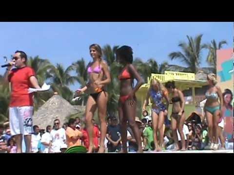 Concurso de bikinis de Bahamas noviembre de 2010